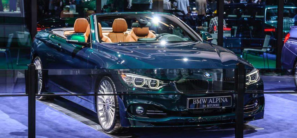 BMW アルピナ D4 カタログ PDF/オプション装備