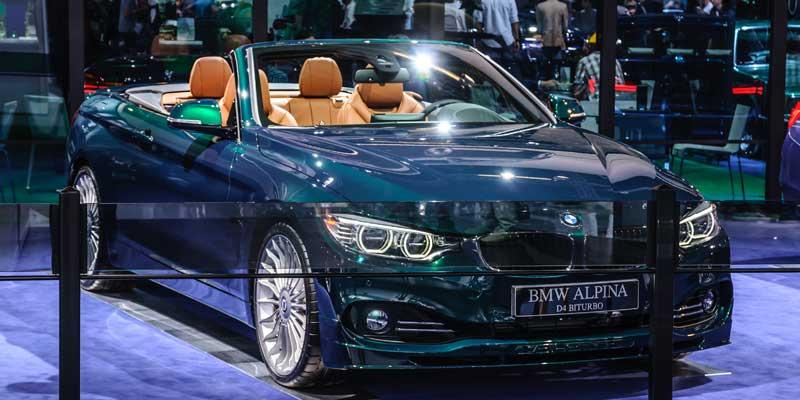 BMWアルピナ D4 カタログ PDF|オプション装備一覧